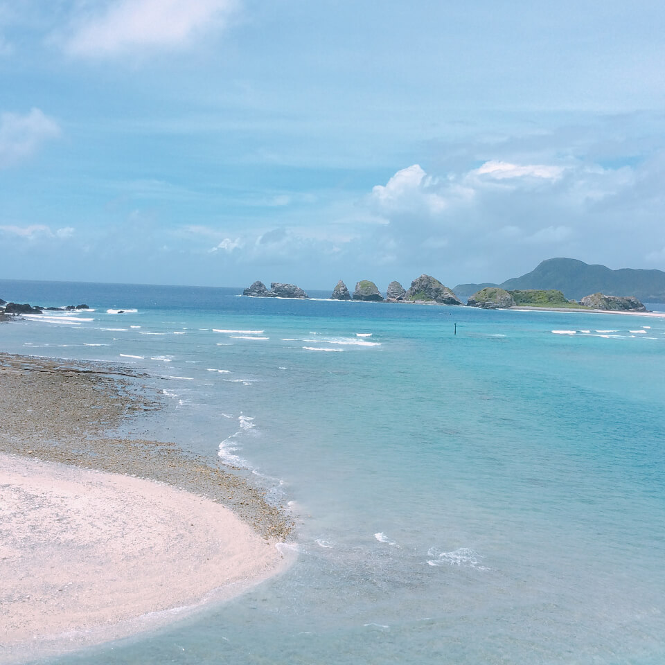 きれいな日本の海を